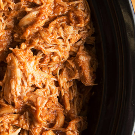 Best BBQ Crockpot Pulled Chicken | Cooking On A Budget