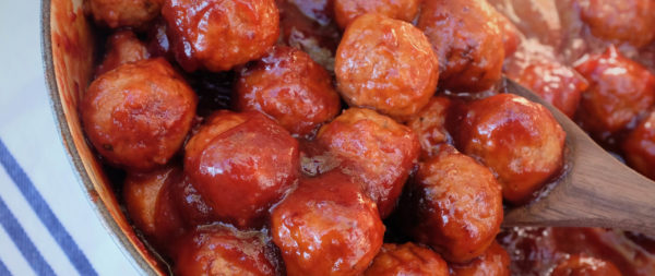 cranberry and bbq meatballs
