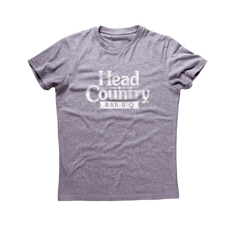 Head Country T-Shirt Gray