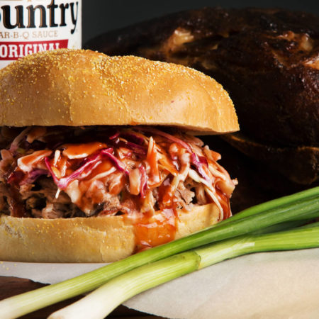 Pulled Pork Roast Sandwich