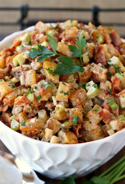 Oven Roasted Barbecue Potato Salad   Best BBQ Recipes
