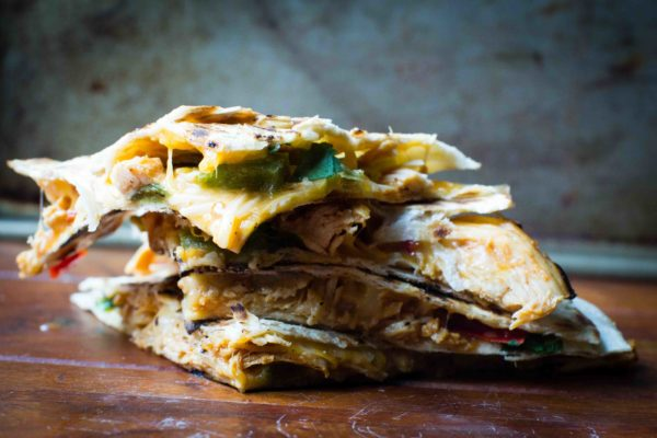 Slow Cooker Hot And Spicy BBQ Chicken Quesadillas | Best BBQ Sauce Recipes | International Cuisine