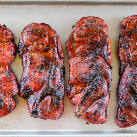 Head Country Rib Rub and Best BBQ Sauce Recipe For Pork Steaks   Head Country Glow