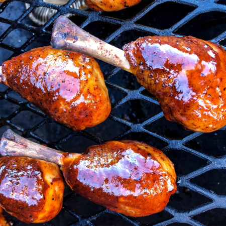 Apple Habanero Chicken Lollipops With Head Country Glow | Best BBQ Sauce Recipes For Grilling Out