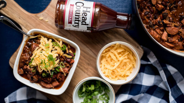 3 Meat BBQ Chili With Head Country | Best Chili Recipes | Best BBQ Sauce Recipes | Tailgate Chili