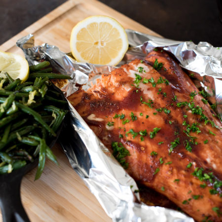 how to cook salmon in bbq
